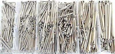 555pc GOLIATH INDUSTRIAL STAINLESS STEEL COTTER PIN SSCP555 ASSORTMENT CLIP KEY
