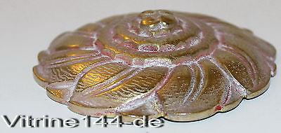 BRONZE ROSETTE APPLIKATION Blüte Ersatzteil Zierschraube + Gewinde für M10x1 #1
