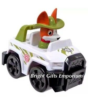 Paw Patrol Tracker Racer Jungle Pup Rescue Vehicle GENUINE AUTHENTIC With Tags 2