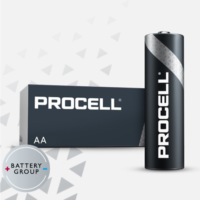 20x AA Duracell batteries Industrial Procell Alkaline MN1500 Expiry 2026 5