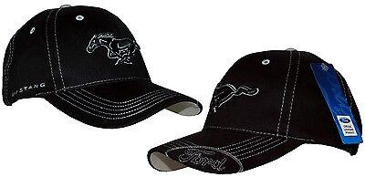 k 047 Schwarz Ford Mustang Car Logo brod/é Casquettes de Baseball Une qualit/é sup/érieure Blau