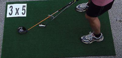 3x5 Real Feel Country Club Elite Golf Mat Practice Matt