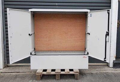 GRP Electric Enclosure, Kiosk, Cabinet, Meter Box, Housing(W1060, H1064, D320)mm 2