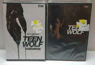 Pelicula Dvd Pack Serie Tv Teen Wolf Temporadas 3Parte1+T4+T5 Precintadas 5