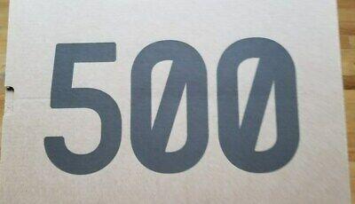 NEUF ADIDAS YEEZY Augmentation 500 Sel EE7287 Tout Neuf dans