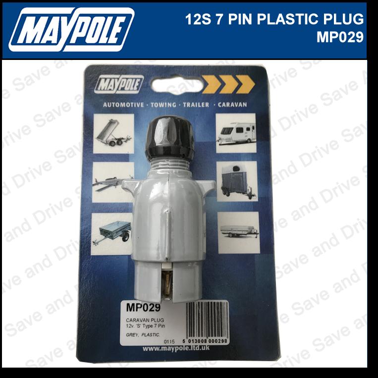 Maypole 12S Plug 7 Pin Towing Trailer Caravan Connector & Electrics 12v MP029 2