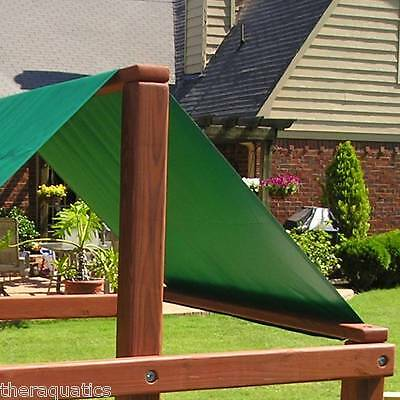 Swingset Swing N Slide Green Shade Playground Canopy Replacement