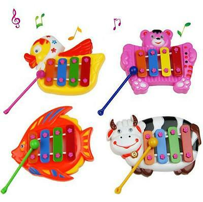 New Musical Educational Animal Developmental Music Bell Toy 4 Tone for Kids ZY1 7
