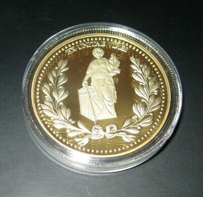 John Wick Continental Hotel Gold Coin Official Replica Movie Prop Capsule Case 2