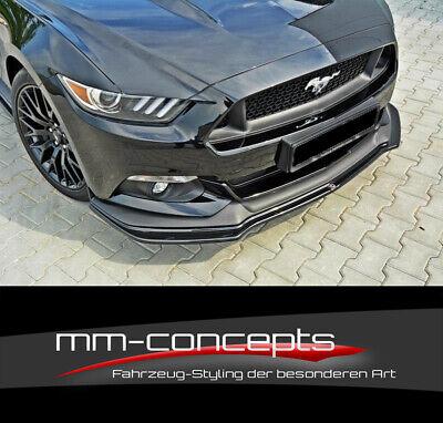 CUP Spoilerlippe CARBON für Ford Mustang MK6 GT Frontspoiler Spoilerschwert ***