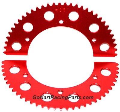 #35 Chain Sprocket Go Kart Racing 65-69 Tooth Mini Bike Gear Hub Split Sprockets