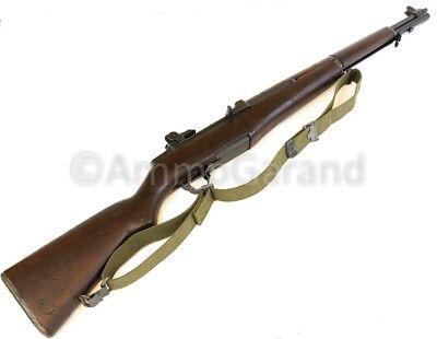 AmmoGarand M1 Garand Web Sling OD Green Cotton for USGI Rifle/Shotguns *US Made* 2