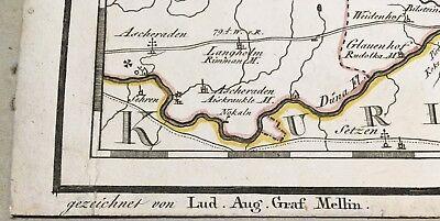 Imperial Russia / Livland/Latvia/Estonia/ Der Wendensche Kreis 1798 /ORIGINAL! 3