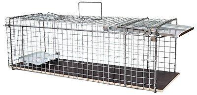 80x28x28cm große Marderfalle Lebendfalle Kaninchenfalle Tierfalle Drahtfalle 3