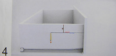 50 INDAmatic ADAPTER SOFT CLOSE FOR ANY SIDE MOUNT DRAWER SLIDE