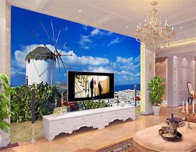 Rural Concise Light 3D Full Wall Mural Photo Wallpaper Printing Home Kids Decor
