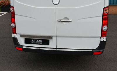 Chrome Rear Door Handle Cover Tailgate Grab Trim To Fit Vivaro 2014+