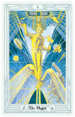 Crowley Thoth Tarot Deck Large Cards Esoteric Telling Games Systems New