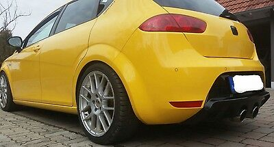 Seat Leon 1P FR Cupra R R32 Heckdiffusor Heckansatz Diffusor Stoßstange Ansatz