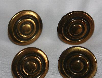 Vintage Bronze Colored Metal Drawer Handles Pulls (12)  & Cabinet Knobs (8) 4