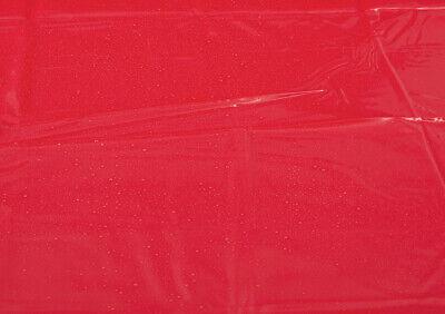 Lack Laken Bettlaken Vinyl Laken Massage Auflage Gummifeeling Rot 200 x 230cm 6