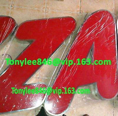 Custom size LED Backlit Channel Letter Sign Signboard Signage,led SIGN,PIZZA PRO 3