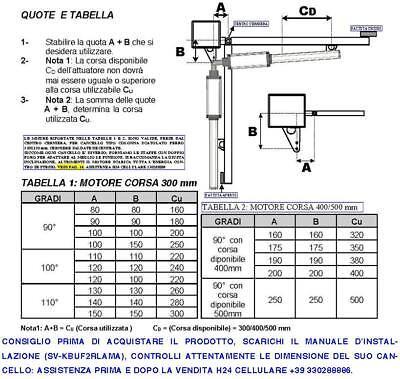 Schema Elettrico Cancello A Due Ante.Motori 220 V Ricambio Cancello 2 Ante Da 2 Metri Compatibile Serai Faac Came Bft
