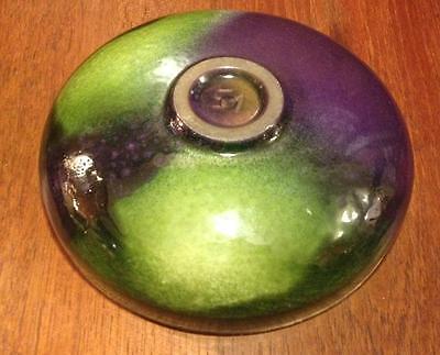 Mid Century studio pottery  Cigar ashtray 3