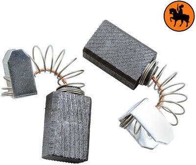 NUOVO Spazzole di Carbone MILWAUKEE DD2-160XE martello - 6.3x10x15mm 2