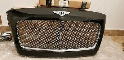 Bentley Continental Gt Gtc Chrome Radiator Grill 2015 - 2018 4