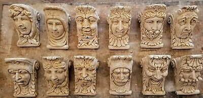 Lot of 12 WALL CORBEL BRACKET SHELF ARCHITECTURAL ACCENT HOME DECOR 4