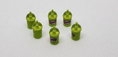 6 LEGO DRINKS SQUISHEE DRINK SLURPEE CUP MINIFIGURE