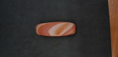 Beautiful color sulemani yemani red old agate stunning bead # 2