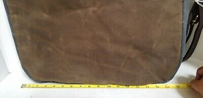 CB STATION Waxed Canvas Multi Pocket Travel Tote / Bag - NEW WITHOUT TAGS 5