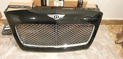 Bentley Continental Gt Gtc Chrome Radiator Grill 2015 - 2018 3