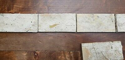 6 Antique Dutch Delft Edge Fireplace Floral Tiles and 1 with dog 10