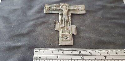 Very Beautiful large Post Medieval Crucifix. please read description. L98c 3