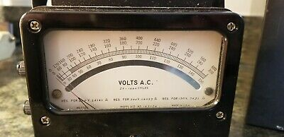 Weston Voltage Meter Model 433 Kimball Electronic Lab, Inc. in Metal Case 4