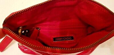 Original Jimmy Choo Damen Tasche Clutch Handtasche echtes  Leder, Lackleder TOP! 6