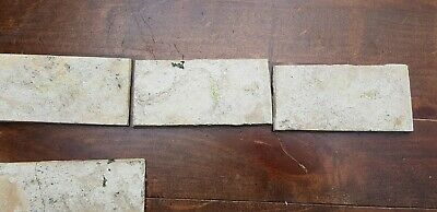 6 Antique Dutch Delft Edge Fireplace Floral Tiles and 1 with dog 11