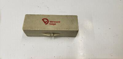 Vermont 161208310 STL X Master Rev. Round Gage Block 16.00mm.  shelf-t3 blue#2 6