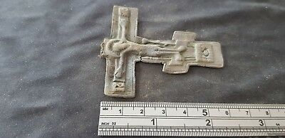 Very Beautiful large Post Medieval Crucifix. please read description. L98c 4