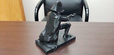3D Printed Darth Vader Pen Holder - Custom Made Office Accessories 4