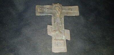 Very Beautiful large Post Medieval Crucifix. please read description. L98c 2