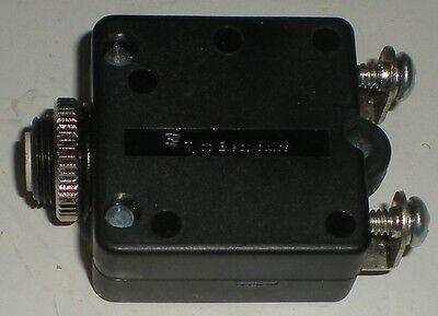 TYCO ELECTRIC PUSH BUTTON CIRCUIT BREAKER 15A 250VAC 50VDC W58-XC4C12A-15 CSA UR