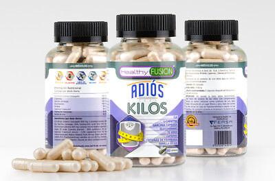 ADIÓS KILOS - Potente Adelgazante Quemagrasas con Garcinia Cambogia y Té Verde