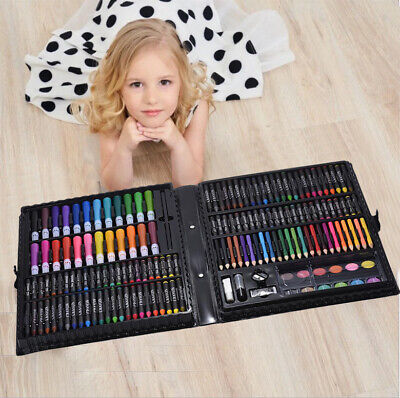 NEW 168pc Art Set with Crayons Pastels Markers Pencils Paint Felt Tips with Case 3