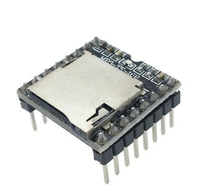 DFPlayer Mini MP3 Player Module MP3 Voice Module Supporting TF Card and USB Disk 5