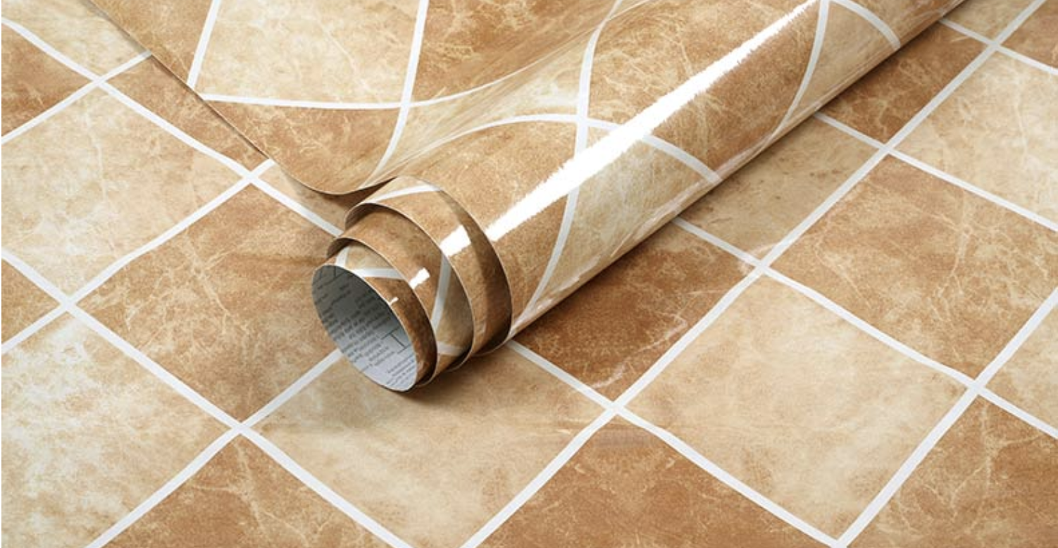 3d Check Marble Tiles Beige Sticky Back Plastic Vinyl Fablon Kitchen Wallpaper 1 99 Picclick Uk