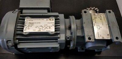 New SEW-Eurodrive 50//60Hz Gearmotor StraightRF47 DRS71M4//TH
